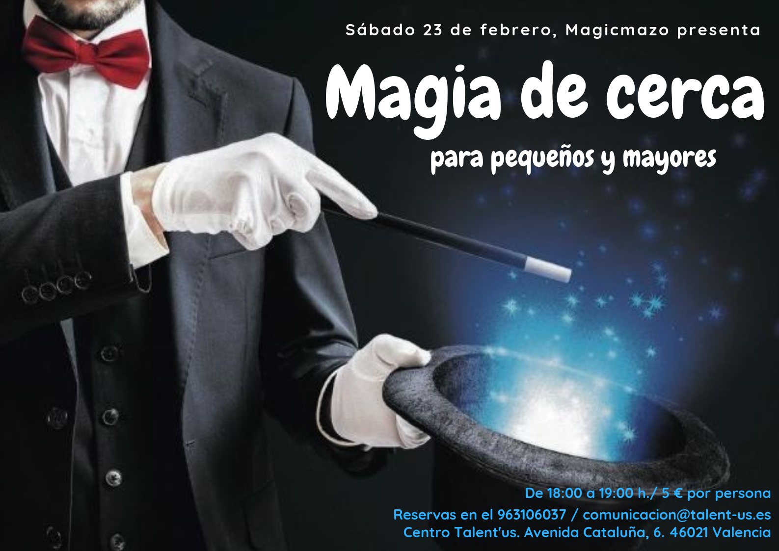Dónde_ Talent'us, Avda. de Cataluña nº 6 de ValenciaEdades_ Dos grupos - Primer grupo (de 9 a 14 años) - Segundo grupo (A partir de 15 años)Precio_ 190 euros (trimestre). Grupos reducidos-1